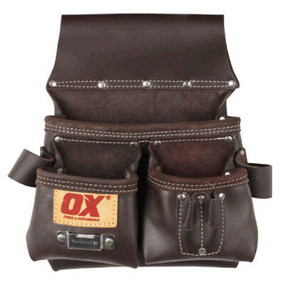 NEW OX Pro Leather Carpenters Pouch OX
