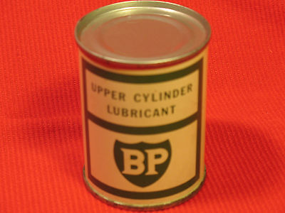 Vintage BP Original Lubricant 4 oz Tin Oil Can Upper Cylinder Lubricant