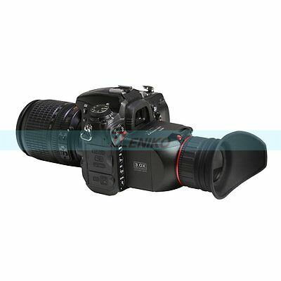 GGS Swivi S1 3X Optical Loupe LCD Viewfinder for Canon 5D2 7D Nikon D90 D7000