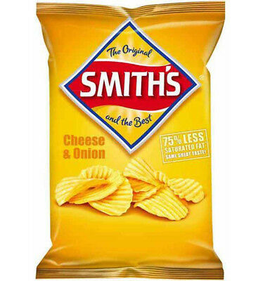 Smiths Cheese and Onion 170g