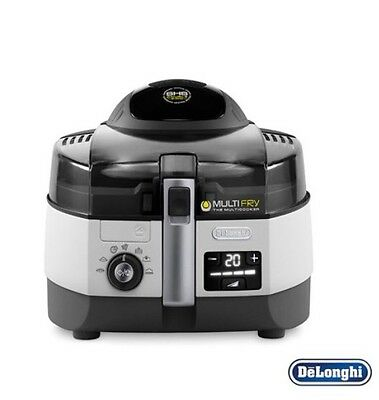 Delonghi FH1394 Multifry Extra Chef Low-Oil Fryer Multicooker - New
