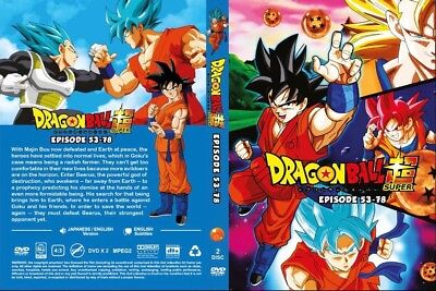 Dragon Ball Super (Episode 53 - 78) ~ 2-DVD SET ~ [English Dub Version Anime]