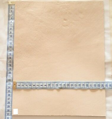 Natural Craft Leather Veg Tan Hide 3.5Mm Thick Veg Tan  Tooling Leather Offcuts
