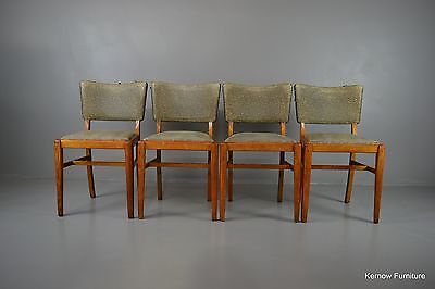 Set 4 Retro Beautility Dining Kitchen Chairs