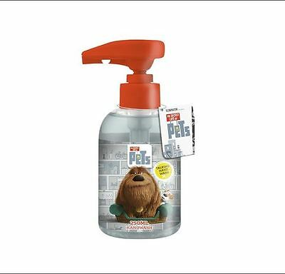 The Secret Life Of Pets Talking Hand Wash 250ml