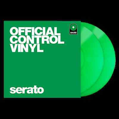 Serato Performance Series Control Vinyl Green Pair DVS 12""