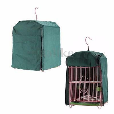 Universal Bird Cage Cover Parrot Budgie Canary Shade Cloth Protection Green New