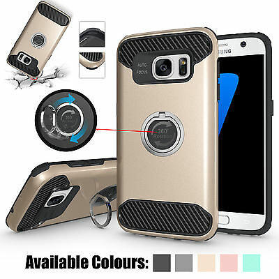 New Luxury 360° Shockproof Protective Case Cover For Samsung Galaxy S7 Edge S8