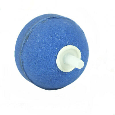 "Aquarium Pond Air Stone Ball 50mm (2"") Blue Round Fish Pond Aeration Airstone"