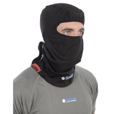 Oxford Warm Dry Black Thermal Motorcycle Motorbike Scooter Balaclava New