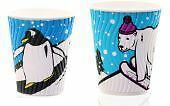 Festive Freestyle Hot Cup, with Lid, 12oz, Pack of 10