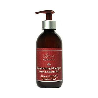 NEW Royal Moroccan Moisturising Shampoo for Dry/Damaged Hair 300ml + Free P&P