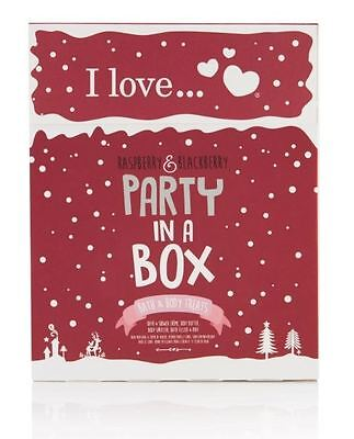 I Love… Raspberry & Blackberry Party In A Box Gift Set
