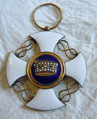 Medal of the Order of the Crown of Italy VERY RARE