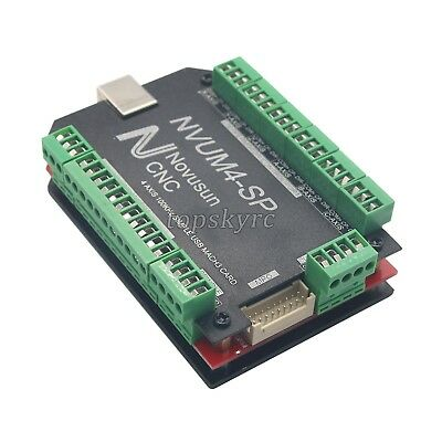 4 Axis USB MACH3 Card 100KHz CNC Stepper Motor Driver Motion Controller Board