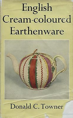 English Cream Colored Earthenware - Patterns Makers Marks / Illustrated Book