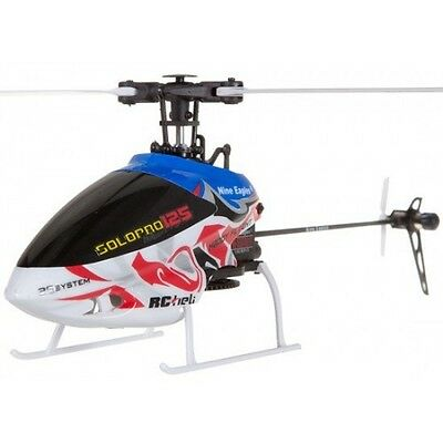Nine Eagles Solopro 125 3D Rtf Rc Remote Control Helicopter