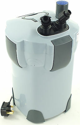 Aquarium Fish Tank External Filter Pump 1000L/H Media Included HW-402