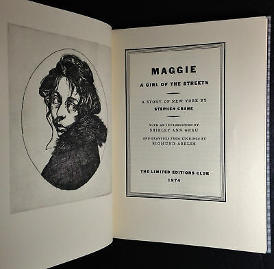 an analysis of maggie a girl of the streets by stephen crane Home → sparknotes → literature study guides → maggie: a girl of the streets maggie: a girl of the streets stephen crane table of summary summary & analysis.