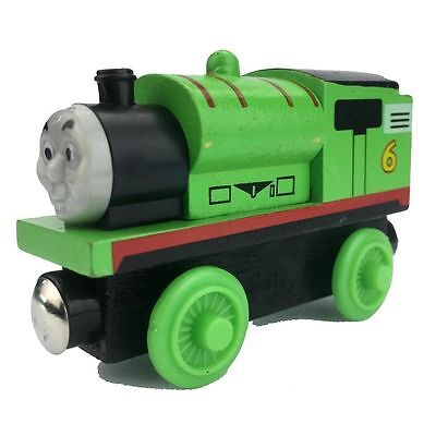 Percy Thomas & Friends Wooden Magnetic The Tank Engine Railway Train green new s