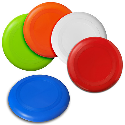 Round Frisbee Disc Flying Fun Puppy Toys Outdoor Kids Holiday Silicone Game Pets