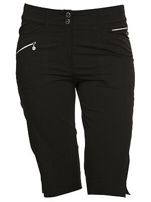 Daily Sports Ladies 62cm Miracle Shorts - Black
