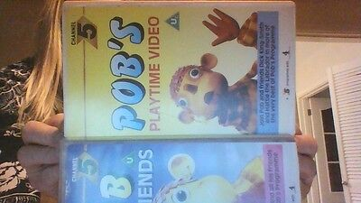 2 x POB and FRIENDS & POB'S PLAYTIME VHS