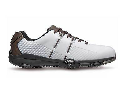 Callaway Chev Comfort Golf Shoes - White/Brown