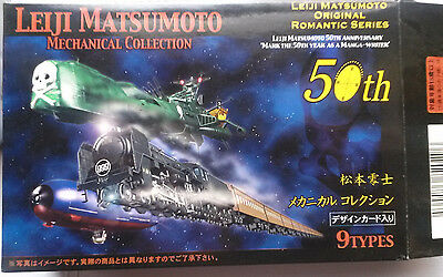 LEIJI MATSUMOTO mechanical collection 50th anniversary GALAXY EXPRESS 999