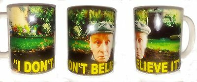 """Victor Meldrew """"i Dont Believe It"""" One Foot In The Grave Tv Coffee/tea Mug"""