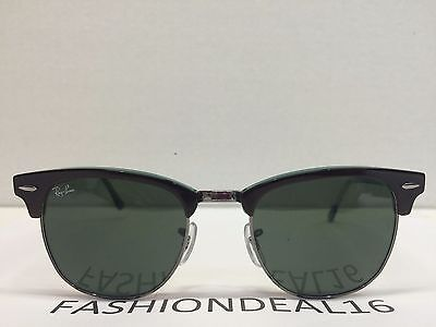 ray ban clubmaster tortoise polarized  RayBan Authentic Clubmaster Tortoise Mirrored 51mm RB3016 1145/30 ...