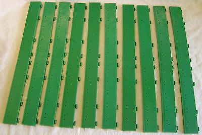 Scalextric Track 10 Green Full Straight Borders T46