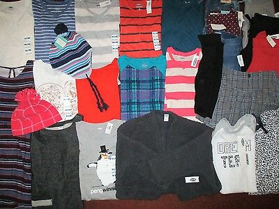 NWT'S Girls Size 8 Fall Winter School Lot Clothes & Outfits Old Navy