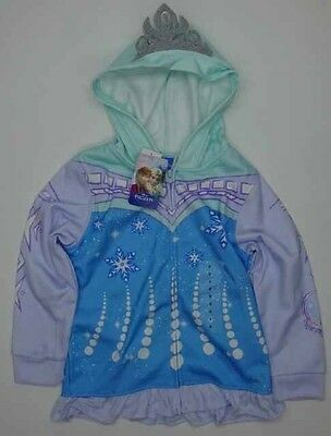 Frozen Character Zip Jackets Aged 5 *Brand New*