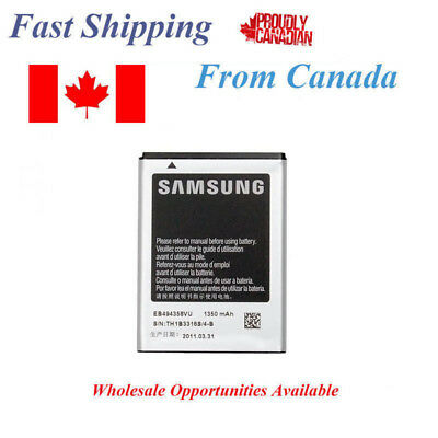 Samsung Galaxy Ace Battery 5830 S5660 S5670 EB494358VU EB-494358VU