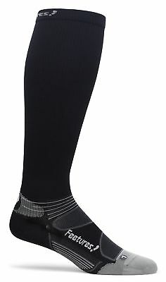 Feetures! Compression Socks in Black, White