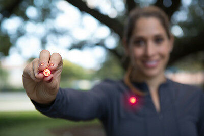 Athlights Pack : Magnetic Flashing Safety Lights for Running Cycling and Walking