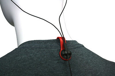 BUD BUTTONS: Red Tab/Black Clip