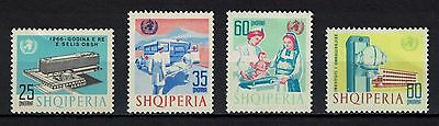Albania 1966 _ The New Administrative Building of the WHO _ Full set - MNH**