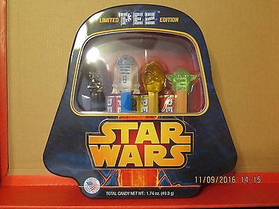 Brand new Collectible PEZ Star Wars Gift Tin