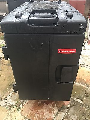 Rubbermaid Commercial Products Rcp 9408 Pla Catermax Carrie W/Swivel Caste...
