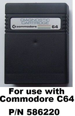 Diagnostic Test Cartridge P/N 586220 for Commodore 64 [03]