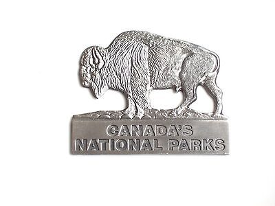 Canada's National Parks (Antique Silver Colour)