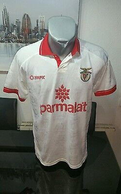 Camiseta Shirt Vintage Museum Olympic S.l Benfica Talla M