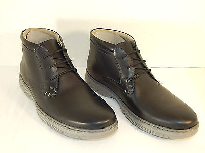 113257cc9459 CLARKS WATTS MID Mens Lace-Up Low Boot Black Leather -  39.00