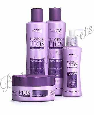 "PLASTICA DOS FIOS post BRAZILIAN KERATIN TREATMENT ""HOMECARE"" KIT CADIVEU"