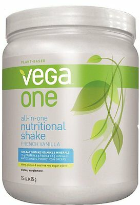 All-in-One Nutritional Shake, Vega, 11 servings French Vanilla