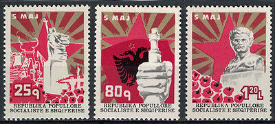 Albania 1977 _ The 35th Anniversary of the Martyrs Day _ Full Set - MNH**