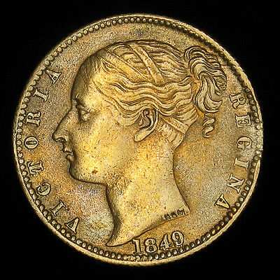 1849 To Hanover Great Britain token 1837 medal Victoria