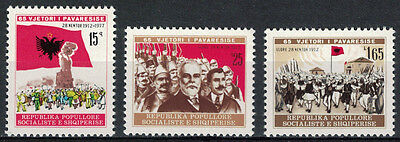 Albania 1977 _ The 65th Anniversary of Independence _ Full Set - MNH**